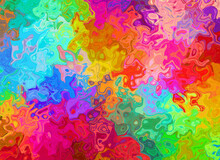 Abstract Background Of Mixed C...