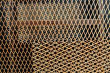 Textura De Metal Oxidado Y Perforado
