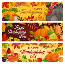 Happy Thanksgiving Day Vector ...