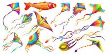 Flying Wind Kites, Kids Toy Ca...