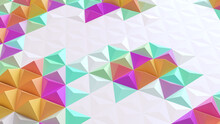 Abstract Geometric Bright Tech...