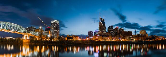 View of the Nashville skyline