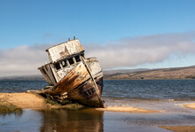 Point Reyes Shipwreck, An Aban...