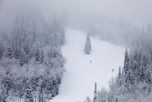 Skiing At Deer Valley, Utah, N...