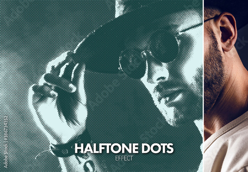 Halftone Dots Effect