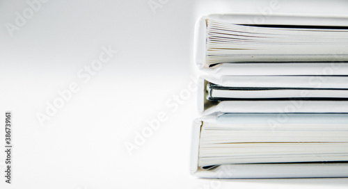 Obraz stack  of books - fototapety do salonu