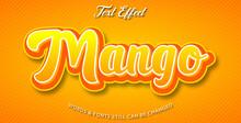 Mango Editable Text Effect