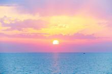 Spectacular Beautiful Sunset O...
