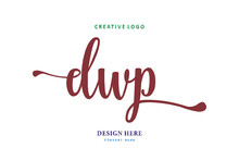 Logo Composition Of The Letter DWP Is Simple, Easy To Understand And Authoritative