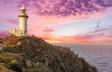 Cape Byron Lighthouse In New S...