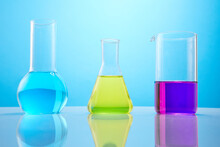 Different Laboratory Glassware...