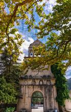 A Carillon Of Four Bells In Agios Gerasimos Monastery, Kefalonia, Greece
