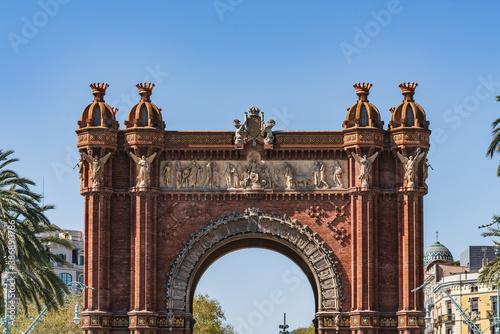 Cuadros en Lienzo The triumphal arch of Barcelona