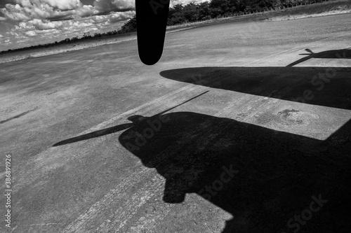 Fotografie, Obraz Douglas DC-3 aircraft in Colombia.