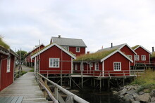 Wooden Rorbuer Houses