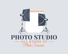 Photo Studio Label Concept