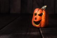 Small Ceramic Halloween Pumpki...