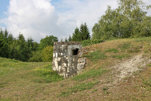 World War One, Verdun France. Photo Of A Fort. Ouvrage De Froideterre, Douaumont.