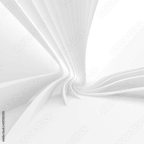 Abstract Structure Background. White Industrial Texture - 387002385