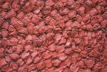 Abstract Concrete Red Wall Tex...