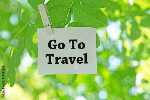 Go To Travel Fototapet