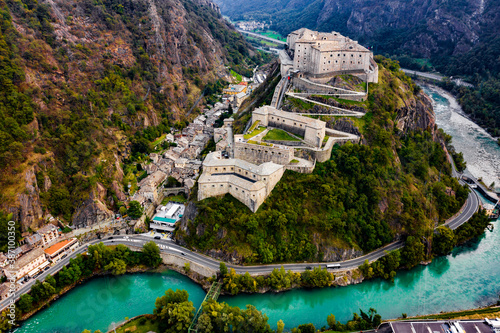 Fotomural Forte di Bard Aosta Italy Avengers Age of Ultron Castle