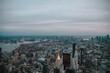 Foto de las vistas desde un rascacielos en Nueva York