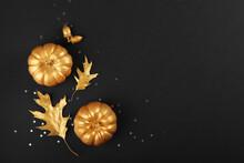 Beautiful Stylish Autumn Backg...
