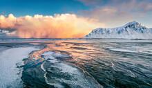 Incredible Winter View Of Lofo...