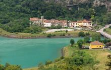 Borgo Di Basso Fadalto, A Small Village On The Road Between Vittorio Veneto And Ponte Nella Alpi, Italy