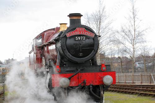 Fototapeta 蒸気機関車 obraz na płótnie