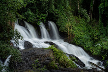 Pha Suea Waterfall Located In ...