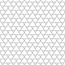Mosaic. Triangles, Hexagons. G...