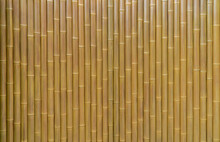 Bamboo Plank Fence Texture, Ol...