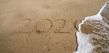 Year 2020 In Tet Written In Sa...