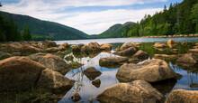 Jordan Pond At Acadia National...