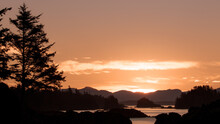 Inlets Vancouver Island, Amphitrite Point Lighthouse, Sunrise