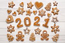 Christmas Mosaic Homemade Ging...