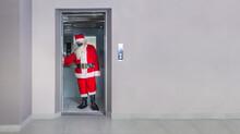 Man Disguised As Santa Claus W...