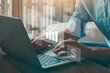 business analytics intelligence BI concept, KPI, financial charts to analyze profit and finance performance of company
