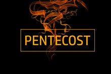 Pentecost Sunday Special Design, Typography For Print Or Use As Poster, Card, Flyer Or Wallpaper