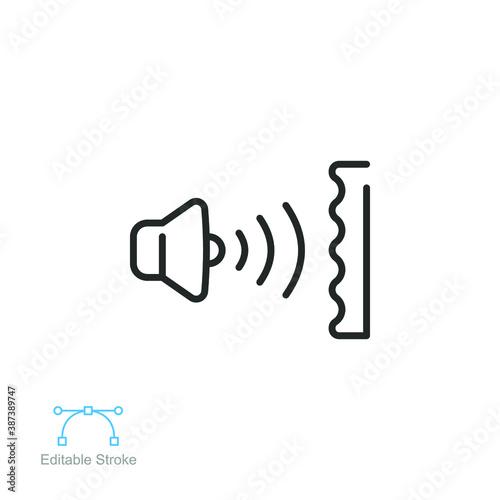 Fotografie, Obraz Soundproofing icon