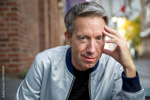 Photo Mann in der Stadt