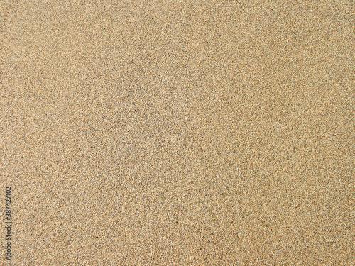 The sand on the beach Fototapeta