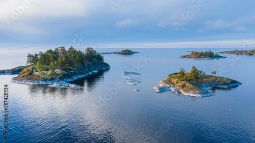 Fotografia, Obraz lake Ladoga