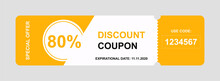 Vector Discount Coupon Flyer S...