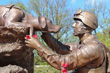 Australian War Memorial In Canberra (australia)