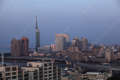 Fototapeta 百堂の街並 obraz na płótnie