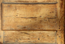 Fragment Of An Old Wooden Vint...