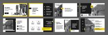 Geometric Yellow Presentation ...